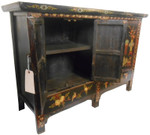Five Legged Chinese Painted Cabinet
