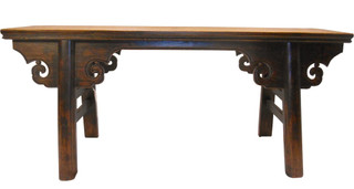 Wooden Chinese Kung Foo Bench
