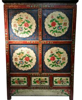 Tibetan Book Case