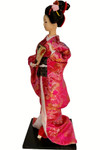 "16"" Japanese silk Geisha doll"