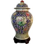 Chinese Porcelain Floral Jar