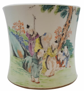 Chinese Antique Porcelain Reproduction Planter