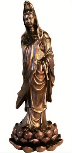 Kuan Yin Oriental Statue  Bodhisattva of compassion