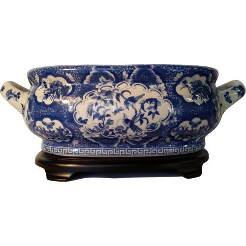 Oriental Furnishings Porcelain Table Bowl PBGC9P16A