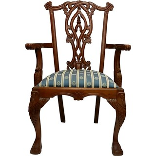 Chippendale Gothic Arm Chair