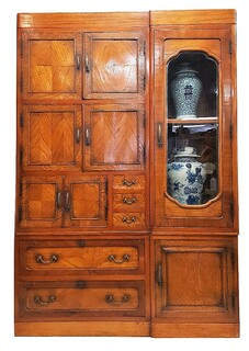 Korean  Antique Wardrobe Chest