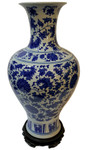 Blue and White Chinese Porcelain vase