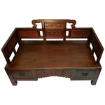 Scholars Meditation Chair with Drawers