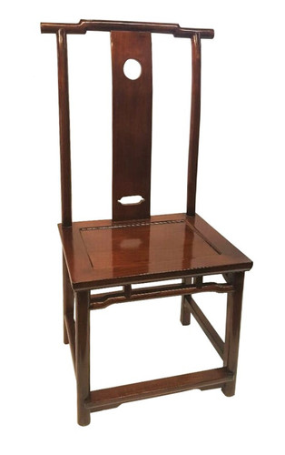 Chinese High Back Side Chair