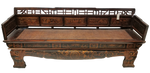 Chinese Dragon Antique Bench