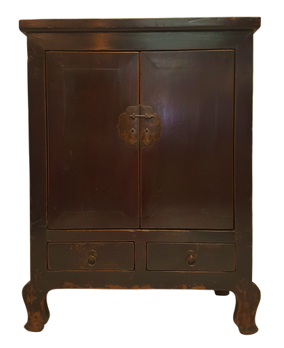 Buddha Legged Chinese Antique Cabinet