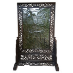 Decorative Jade Panel, Free Standing