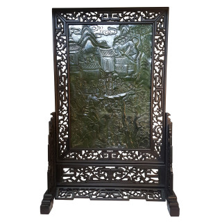 Decorative Jade Panel, Free Standing