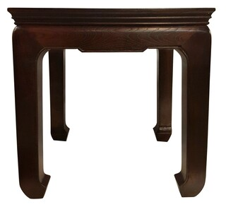 Asian end tables japanese chinese oriental furnishings chinese end table solid elm ming design 24 h watchthetrailerfo