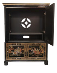 "Oriental Entertainment Cabinet 55""H"