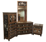 Oriental bed Room Set By Oriental Furnishings