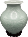 floral pattern Chinese porcelain vase ceramic