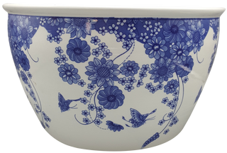 Blue and white Chinese porcelain ceramic