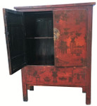 Solid wood Chinese cabinet