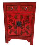 Oriental red chest