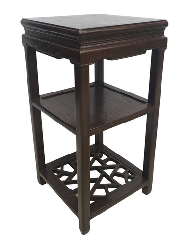 Chinese wood plant stand  design
