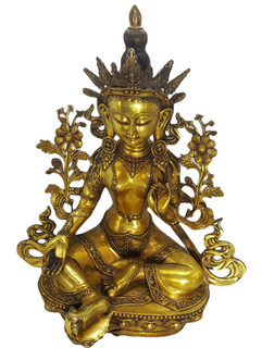 Bronze Buddha statue Giving Blessing
