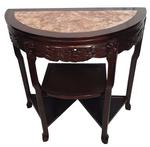 Shelved Demi Lume Table
