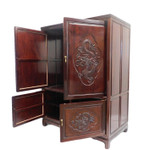 Rosewood Dragon Cabinet