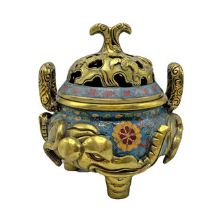 Chinese Incense Burner Elephant