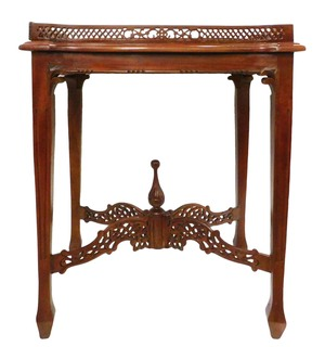 "Chippendale Tea Table 29""H"
