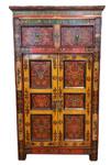 Tibetan Floral Hall Chest