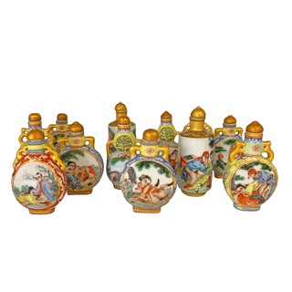 Chinese Snuff Bottles Erotic Design
