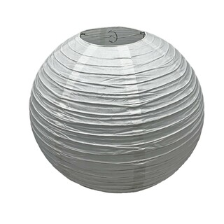 Oriental White Round Paper Shade