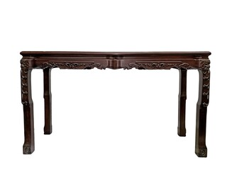 Oriental Carved Rosewood Sofa Table