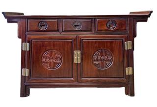 Rosewood Sideboard Altar Design