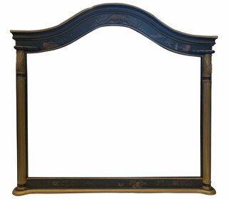 Antique Empire Arched Mirror