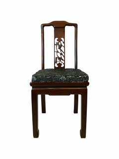 Hand Carved Chinese Side Chair