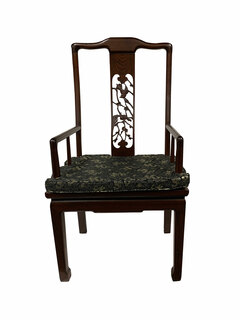 Hand Carved Chinese Arm Chair