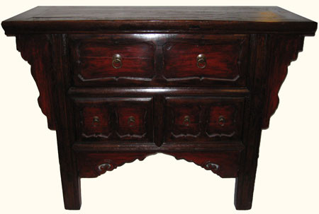 Chinese Antique Chest of Drawers Ming Design with Asian Brass 45 ...