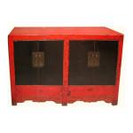 Hand carved elmwood Shanxi antique cabinet