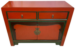 """45"""" Wide Chinese Antiqued Buffet"""