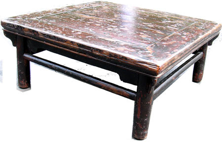 Antique square tea  table