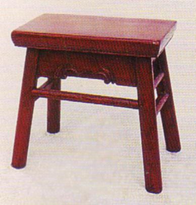 Four legged Ming style stool