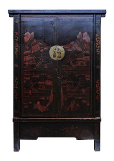 Chinese Antique Cabinet From Shan Dong