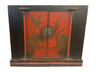 Chinese Antique End Table From Shu Chi Provence.