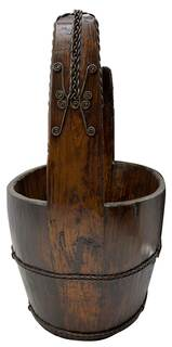 Chinese Wooden Antique Bucket