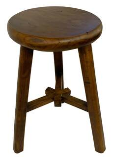 Three Legged Chinese Antique Stool
