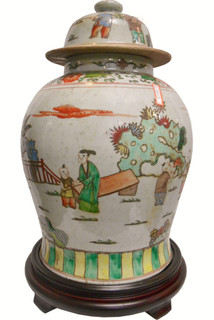 Antique porcelain jar