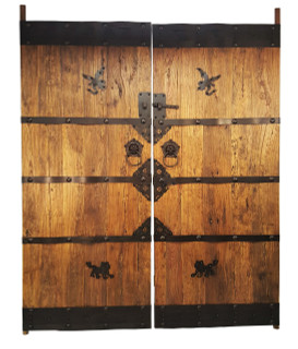Genial Chinese Antique Temple Doors