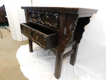Northern Chinese iron handled antique cabinet